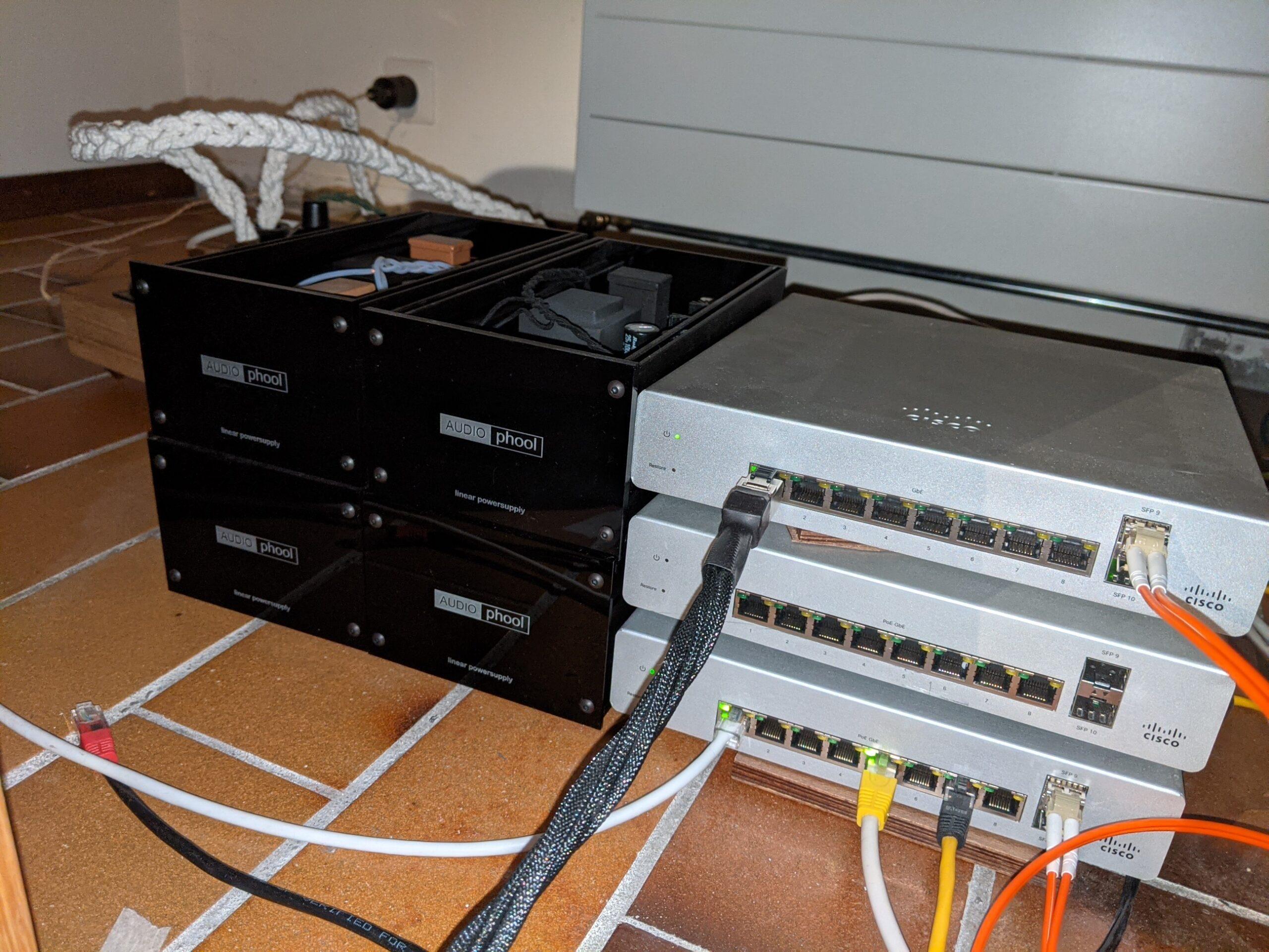 Upgraded Cisco Meraki and linear PSU