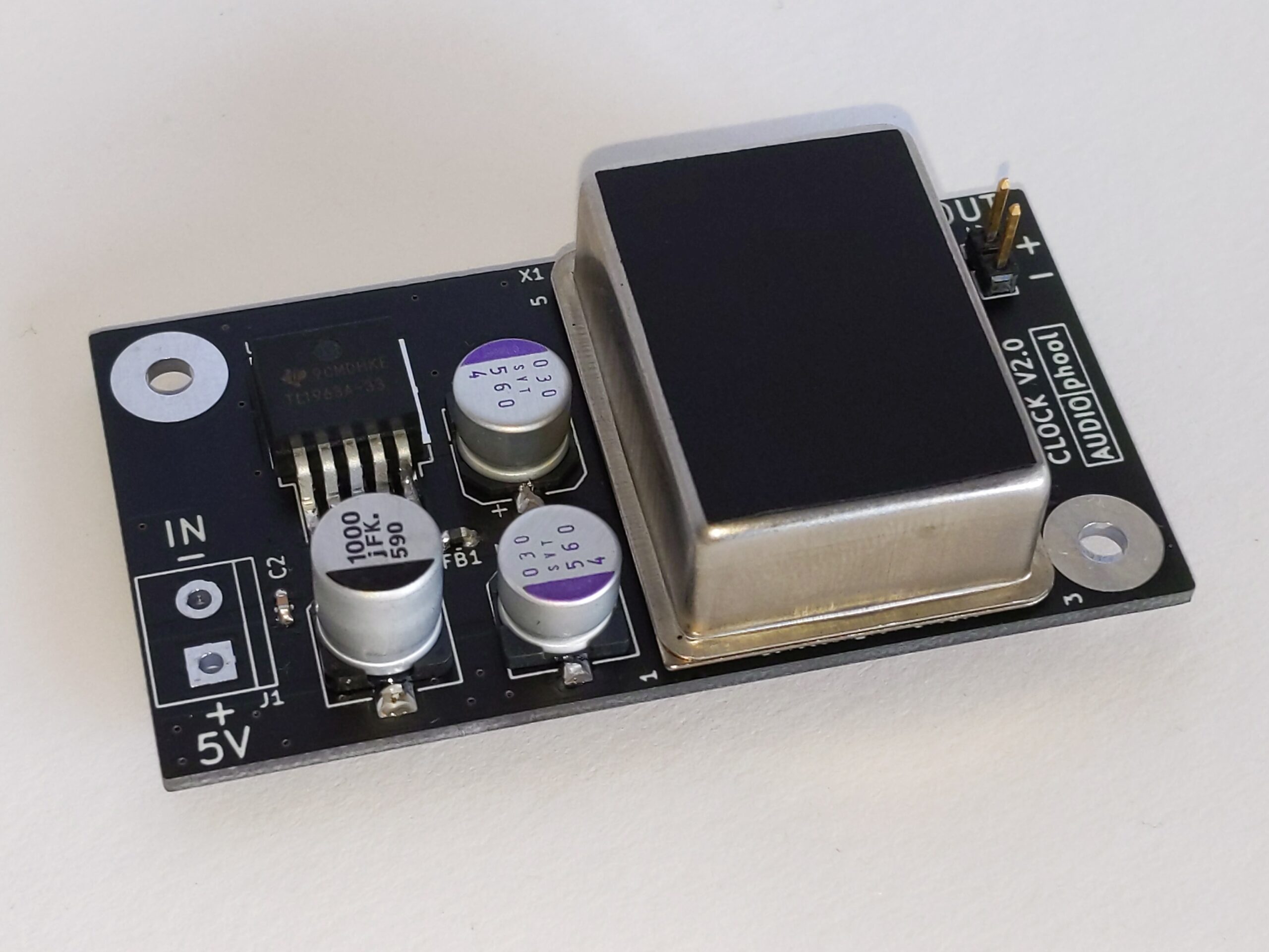 Audiophool 5ppm clock